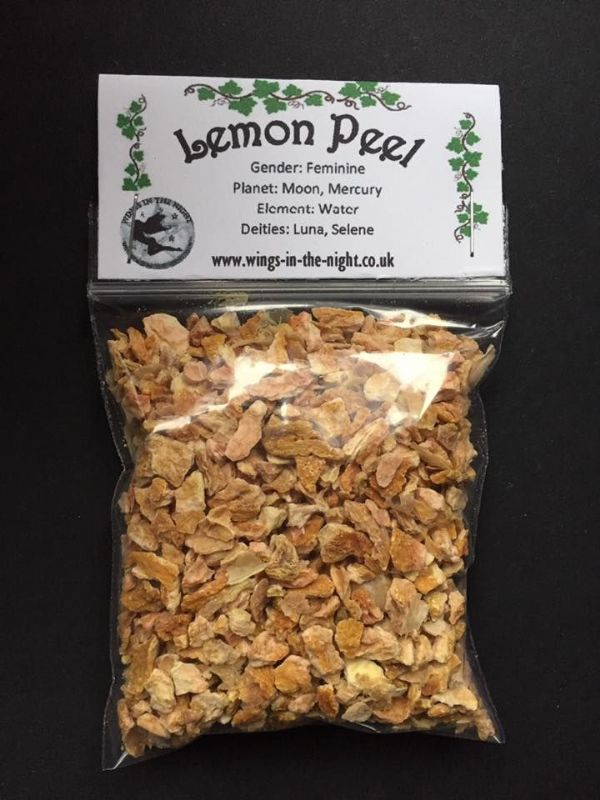 LEMON PEEL Dried - Love, Purification